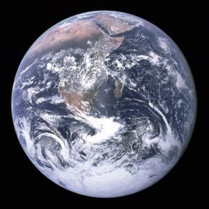 An image of the Earth, shot by NASA, to illustrate a blog post about a U.S. report outlining world water strategy.